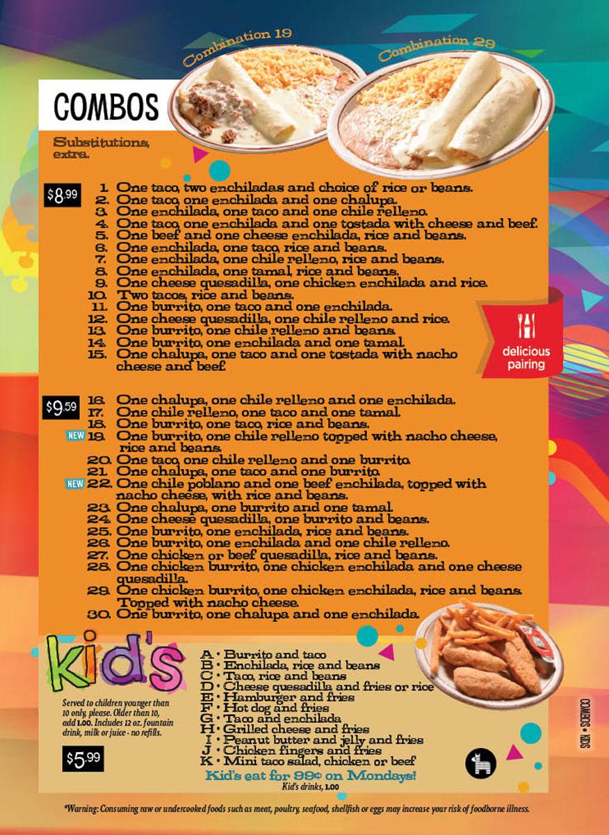 Combos & Kids